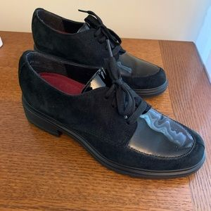 Munro Oxfords, Suede & Patent leather